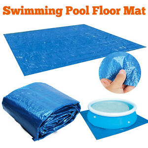 Swimming Pool Cover Mat Rainproof Dustproof Floor Cloth Mat Cover Outdoor Garden