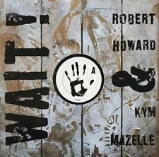 """Robert HOWARD & KYM MAZELLE-espera! (12"""") (en muy buena condición +/en muy buena condición +)"""