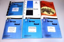 INTERNATIONAL IH 656 GAS TRACTOR  ENGINE SERVICE OPERATORS PARTS MANUAL BOOK SET