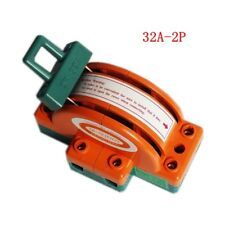 1pc 32A 2 Pole Double Throw DPDT Knife Safety Disconnect Switch 220V/380V