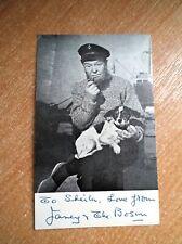 Vintage 1960s signed post card Janey & the Boson from ATV Studios Birmingham
