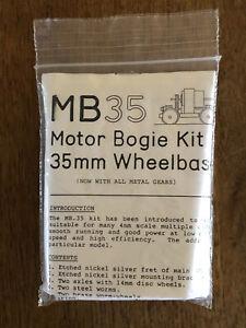 MB35 Motor Bogie Kit, 35mm Wheelbase, 00 Gauge - NEW SEALED