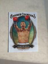 2020 UPPER DECK GOODWIN CHAMPIONS JAIME MUNGUIA RC #18 Boxing Mexico