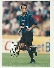Youri Djorkaeff signed 10x8 photo Image A UACC Registered Dealer COA