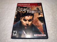 Dead to Rights (Sony PlayStation 2, 2002) PS2 Greatest Hits Complete Excellent