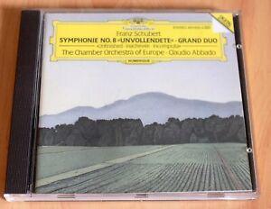 Schubert - Symphonie n°8 - Grand Duo - Claudio Abbado - CD