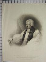 1815 Grande Antico Stampa ~ George Tomline D.D Vescovo Di Lincoln