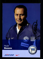 Huub Stevens Autogrammkarte Hertha BSC 2002-03 Original Signiert + A 184039