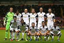 Swansea City Football Equipacion Foto 2013-14 temporada