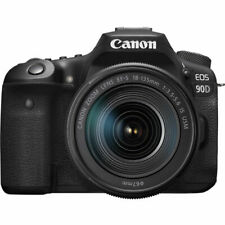 Canon EOS 90D DSLR Camera with 18-135mm Lens- Canon USA Authorized Dealer!