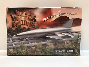 Pegasus 9011 When Worlds Collide Space Ark 1/350 Scale Plastic Model Kit OPEN