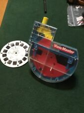Viewmaster 3D Rare submarine style vintage blue see through + 1 MASK reel