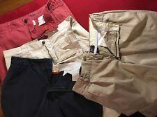 4 pair men or teen summer shorts, size 34, Urban Pipeline, RL Chaps, Dockers