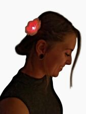 Glowing Hair Clip - Flower Party Favors (50) Glow Party, Novelty, LED Bow, Gift