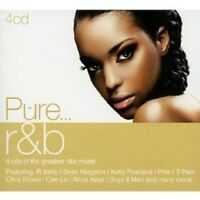 PURE...R&B 4 CD NEW+ MIT R.KELLY, AALIYAH UVM.