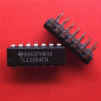 5PCS TLE2084CN Encapsulation:DIP-14,EXCALIBUR HIGH-SPEED JFET-INPUT