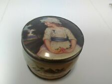 Vintage Thorne's Toffee Tin leeds England Candy Box England Antique