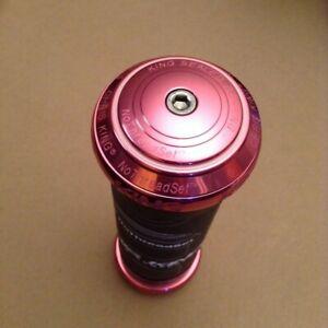 Chris King NoThreadSet Headset 1.5in ec49 ec49 HSE1K Pretty in Pink