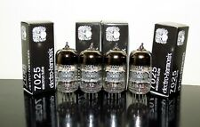 GOLD Matched Quad (4) Electro-Harmonix 7025/ECC83/12AX7 tubes - Low Noise