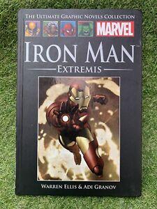 Marvel Iron Man - Extremis by Warren Ellis and Adi Granov.