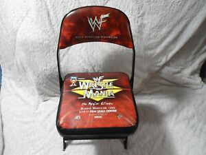 WWE WWF WRESTLEMANIA XV 15 Ringside Collectible Chair 1999