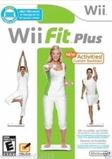 WII FIT PLUS WII - Nintendo Wii - European Version Video Game Compatible New DVD
