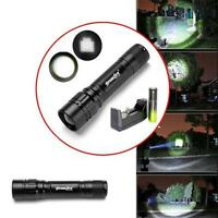 3000 LM 3 Modes CREE XML T6 LED Focus Lamp Waterproof Flashlight+Charger+18650