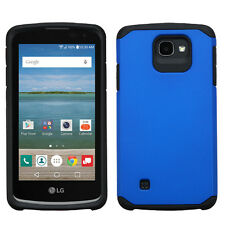 For LG Optimus Zone 3 HARD Astronoot Hybrid Rubber Silicone Case Phone Cover