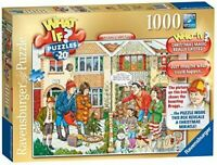 Ravensburger WHAT IF No20 Christmas Lights 1000pc Jigsaw Puzzle