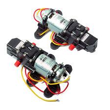 2PCS DC 12V 4L/m Diaphragm Water Pump Fresh Self Priming RV Marine High Pressure