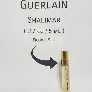 GUERLAIN SHALIMAR Eau De Parfum Spray PERFUME for Women   (5ml / .17oz Sample)