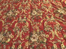 Ralph Lauren Danielle Marsilles Red Floral Comforter Twin & Standard Pillow Case
