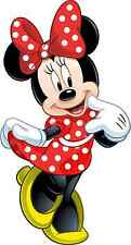 "Minnie Mouse Iron On Transfer 4"" x 7"" for LIGHT Colored Fabric"