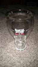 Samuel Adams 25 Years Silver Anniversary Edition Beer Drinking Glass.
