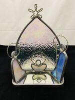Nativity Stained Glass Suncatcher Votive Candle Holder