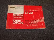 Hitachi UH172 Excavator Engine Factory Original Parts Catalog Manual Manual
