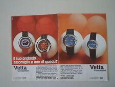 advertising Pubblicità 1971 OROLOGI VETTA COMPETITION