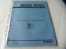 Yamaha Factory Original MIni DiscTechnical Guide