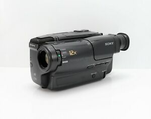 SONY HANDYCAM CCD-TR370E CAMCORDER VIDEO 8 CAMERA 8MM TAPE