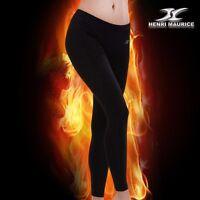 Womens Thermal Underwear Base Layer Compression Long Pants Leggings Black NPW