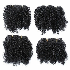 Weft Short Curly Hair Extensions