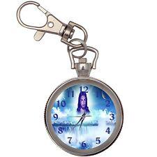 Jesus Silver Key Ring Chain Pocket Watch