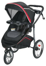 Graco Baby Modes Click Connect 3-Wheel Jogger Jogging Stroller 2018 Chili Red