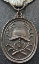✚9535✚ German post WW1 Bavarian Fire Service Decoration for 25 Years medal
