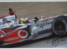 Pedro De La Rosa McLaren MP4-21 F1 Season 2006 Signed Photograph 13