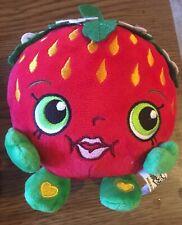 """2016 Shopkins Plush Strawberry, 6"""""""
