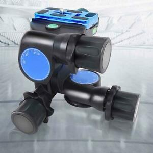 Benro GD3WH 3-Way  Geared Camera Tripod Head - Photographic Equipment