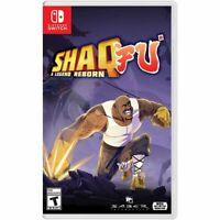 Shaq Fu: A Legend Reborn (Nintendo Switch, 2018) NEW