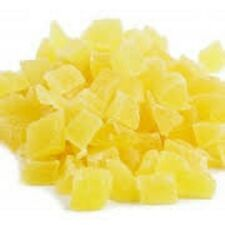 Dried Pineapple diced 2lb bulk deal - dried fruit