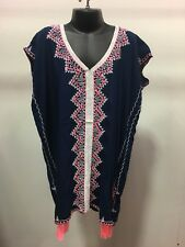 Girls  Kaftan Blue Lovingly made with 1st Quality Rayon Perfect for Ages 5-8yrs